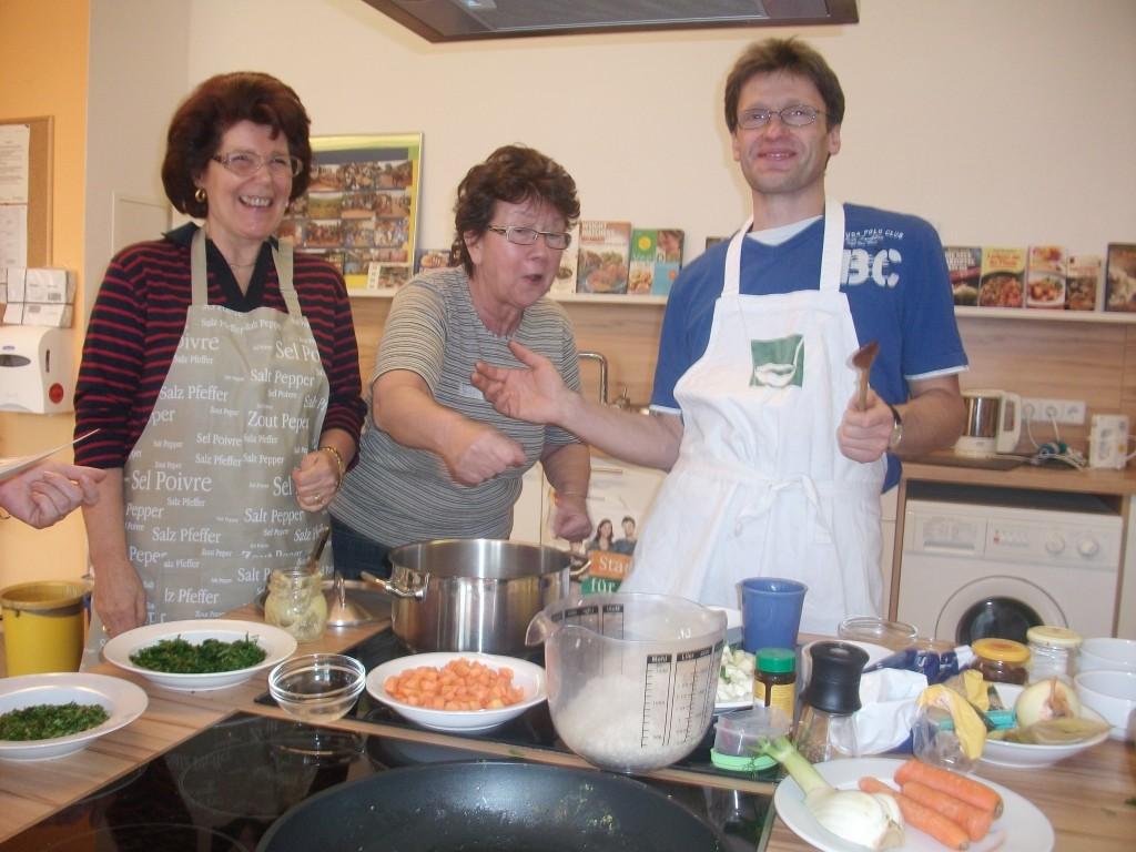 Kochen macht Spaß !